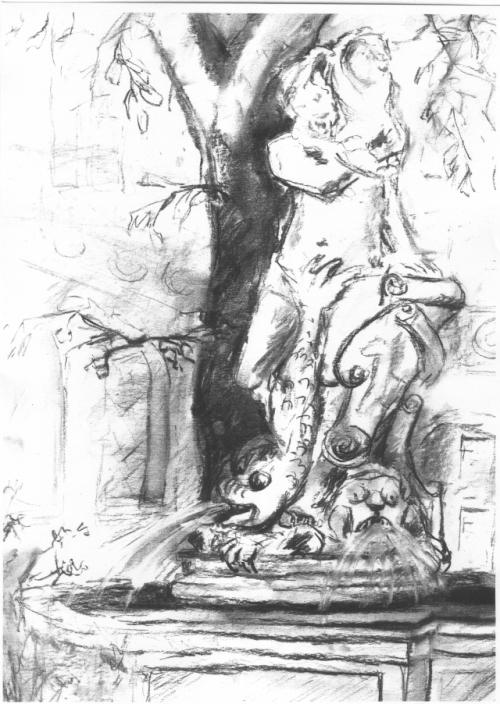 puchberg-brunnen-mit-skulptur-teilansw